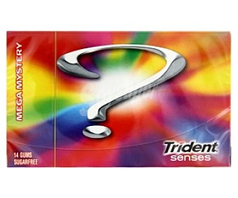 Trident Chicle Mistery 27 Gramos