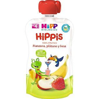HiPP Biológico Bolsita de manzana, pera y plátano Bio 90 g