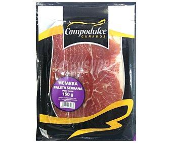 Campodulce Jamón ibérico de cebo en lonchas 150 gramos