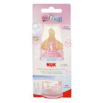 Anti Biberón con tetina -cólico 0-6 meses rosa Nuk 150 ml 1 ud