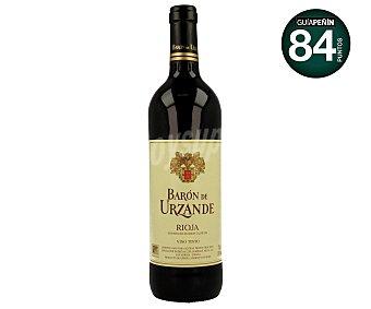 Baron de Urzande Vino tinto joven con denominación de origen La Rioja Botella de 0,75 litros