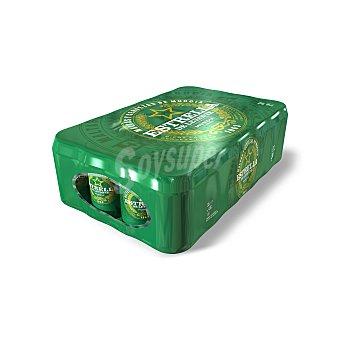 Estrella Levante Cerveza rubia Pack 24 latas 33 cl