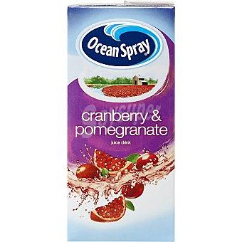 OCEAN SPRAY Zumo de arándanos rojos y granada Cranberry & Pomegranate Envase 1 l