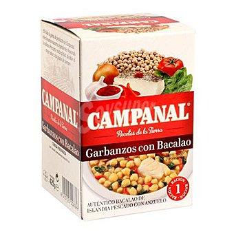 Campanal Garbanzos con bacalao 425 g