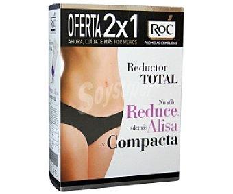 ROC Reductor Total Crema reductora (reduce, alisa los nódulos de grasa y compacta la piel de todo el cuerpo) 200+200 Mililitros