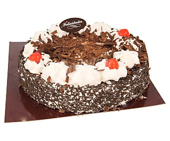 Tarta congelada selva negra con nata 1100 g