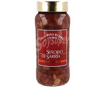 Señorio de Sarria Alubias rojas navarra cocidas señorio sarria 400 g