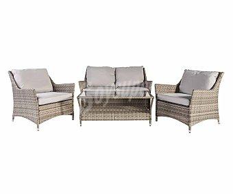 KACTUS REPUBLIC California Conjunto de jardín de 5 piezas, sofá, sillones y mesa, Republic.