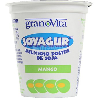 GRANOVITA Soyagur Yogur de soja sabor mango Tarrina 145 g