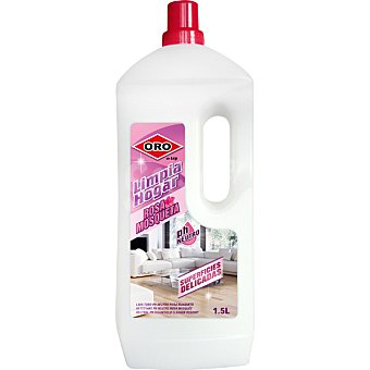 Oro limpiador rosa mosqueta PH neutro botella 1500 ml superficies delicadas botella 1500 ml