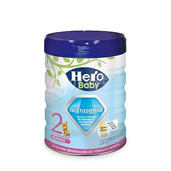 HERO BABY Nutrasense 2 leche de continuacion desde 6 meses  envase 800 g