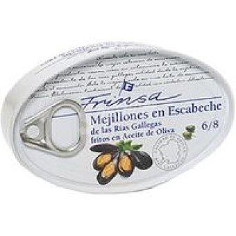 Frinsa Mejillones en escabeche 6/8 piezas Lata 111 g