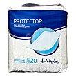Protector cama (58 x 90) Paquete de 20 uds Deliplus