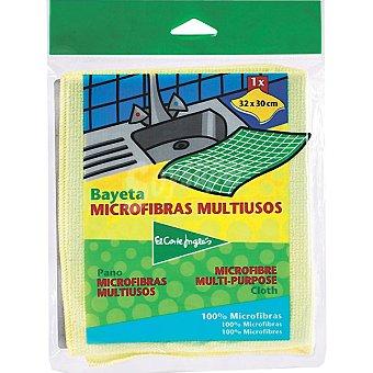 El Corte Inglés Bayeta microfibras multiusos Envase 1 unidad