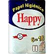 Papel higiénico compacto Paquete 6 unidades Happy