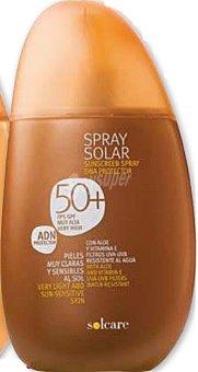 Solcare Protector solar F50+ (spray) Botella 250 cc