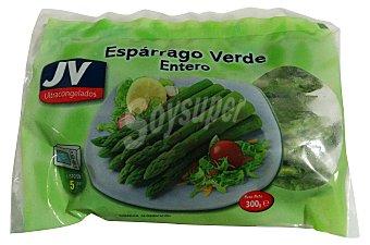 Jv Esparrago verde entero congelado Paquete 300 g