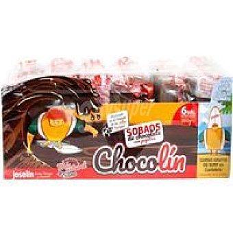 Joselin Sobaos de chocolate con pepitas Paquete 360 g