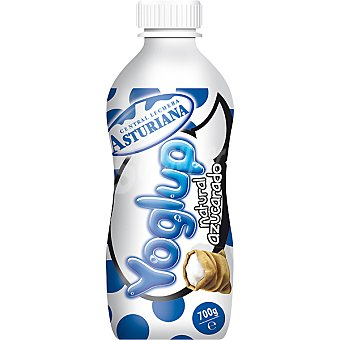 Central Lechera Asturiana Yogur líquido natural azucarado Yoglup Botella 700 ml
