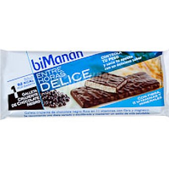 Bimanan Galleta crujiente de chocolate Paquete 20 g