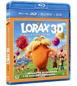 Lorax en busca de la truf combo br+ 3D