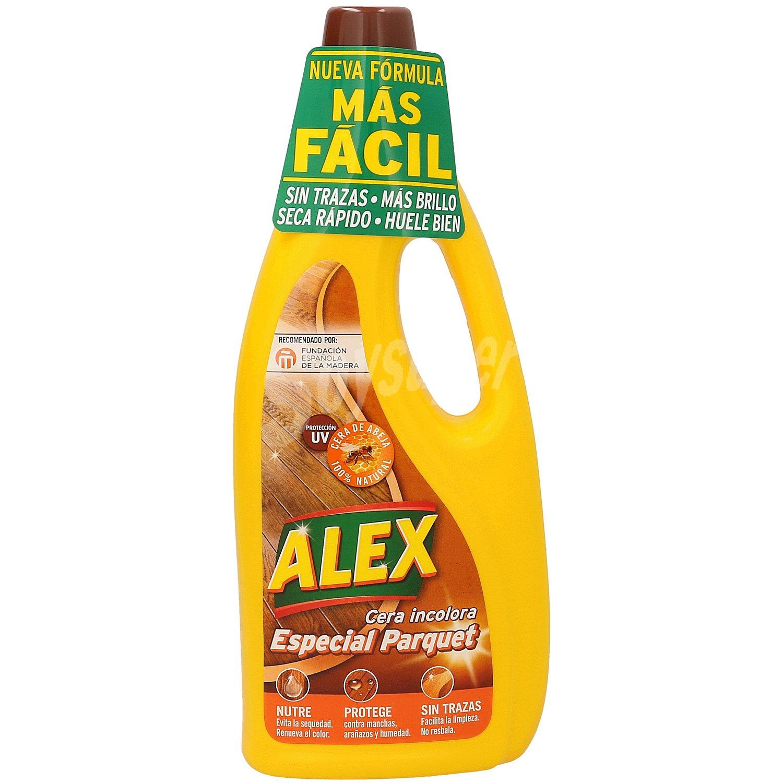 Alex cera barniz para parquet y tarima bote 750 ml - Cera para parquet ...