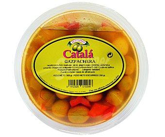 A. CATALÁ Aceituna gazpacha Tarrina de 500 Gramos