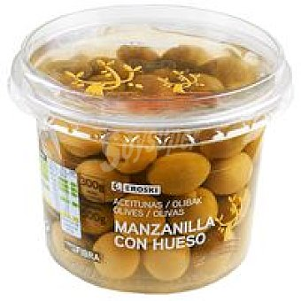 Eroski Aceitunas sabor manzanilla 300 g