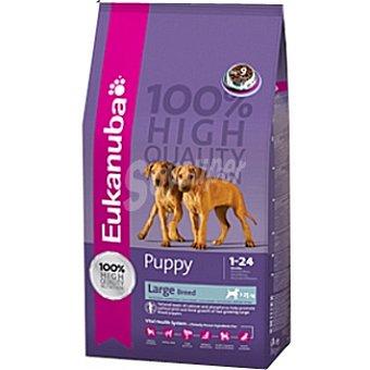 EUKANUBA PUPPY & JUNIOR Alimento completo y equilibrado para cachorros de razas grandes y gigantes Bolsa 15 kg