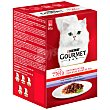 Gourmet alimento para gatos varios sabores caja 6 x 50 gr Gourmet
