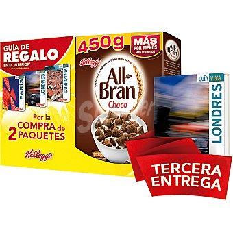 Kellogg's All bran All bran choco + de una guía de viaje 2 paquetes 450 g