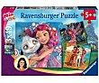 3 Puzzles Infantiles de 49 Piezas RAVENSBURGER.  Ravensburger