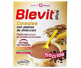 BLEVIT Plus Papilla instantánea de cereales con pepitas de chocolate a partir de 12 meses 600 gramos