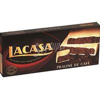 Lacasa Turrón de praliné-café Caja 225 g
