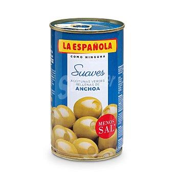 La Española Aceituna rellena de anchoa suave PNE Lata 150 grs.