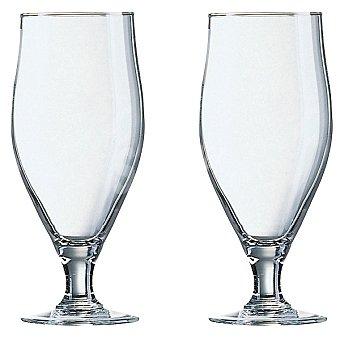 LUMINARC Copas de vidrio de Cerveza set de 2 unidades 50 cl