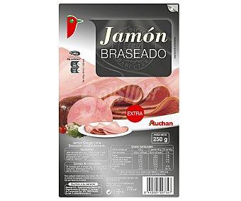 Auchan Jamón Braseado 250 Gramos