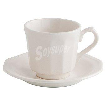 Churchill's Artic Juego de 2 tazas de café con plato en color blanco 16 cl