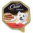 Tarrinas para perro adulto sabor buey  Tarrina 150 g Cesar