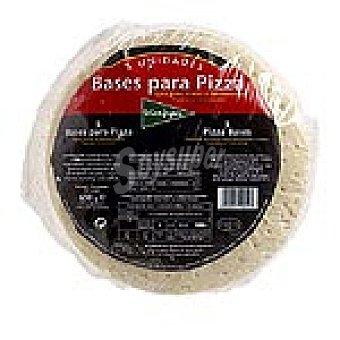 El Corte Inglés Base para pizza tradición bolsa 650 g 5 unidades