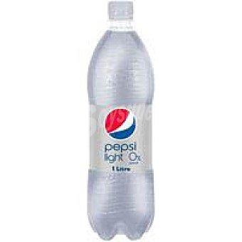 Pepsi Refresco de cola light con gas Botella 1 litro