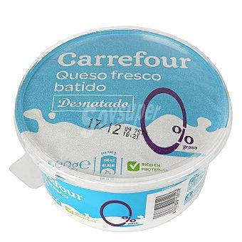 Carrefour Queso fresco batido 0% m.g 500 g