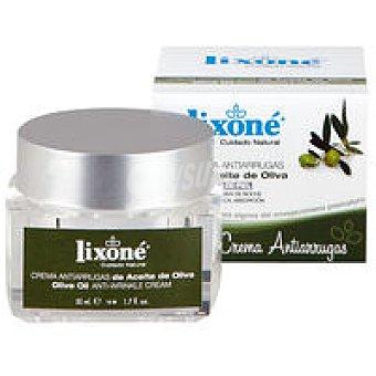 Lixone Crema antiarrugas de oliva ecológica Tarro 50 ml
