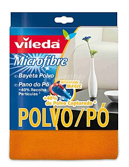 Vileda Bayeta 100% Microfibras especial Polvo 1 ud
