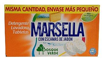 Bosque Verde Detergente lavadora pastilla marsella Caja 20 lavados (1 kg)