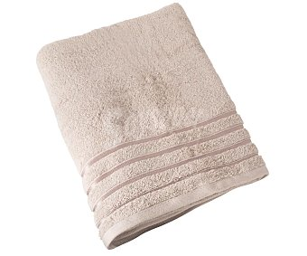 Actuel Toalla de baño color beige 100% algodón, /m² de densidad, 100x150cm. actuel 480 g