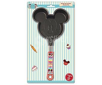Disney Sartén especial para tortitas con forma de Mickey Mouse, modelo Mickey Family Bakery 1 unidad