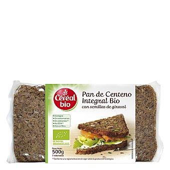 CEREAL BIO Pan de centeno integral bio con semillas de girasol 500 g