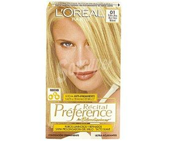 Recital Preference L'Oréal Paris Tte Rubio Ceniza 01 1u