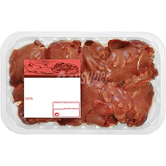 PUJANTE Higaditos de pollo peso aproximado Bandeja 300 g